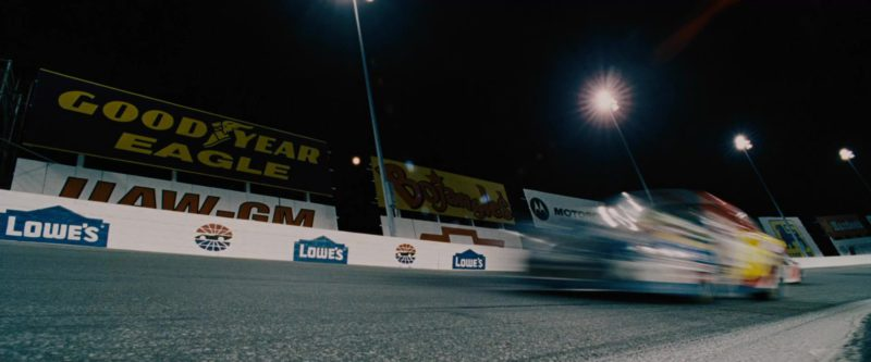 Goodyear Eagle, Lowe's, Bojangles' in Talladega Nights: The Ballad of Ricky Bobby (2006) Movie Product Placement