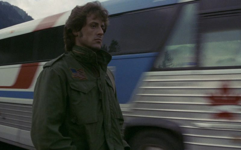 Greyhound Lines Bus in Rambo First Blood (2)