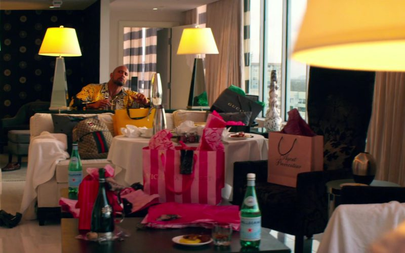 Gucci Bags, Agent Provocateur and Victoria's Secret Paper Bags, S.Pellegrino Water Bottles (1)