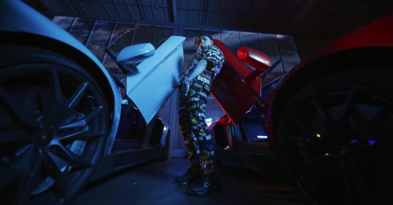 "Gucci Black Sneakers Worn by Lil Pump in ""Butterfly Doors"" (2019) - Official Music Video Product Placement"