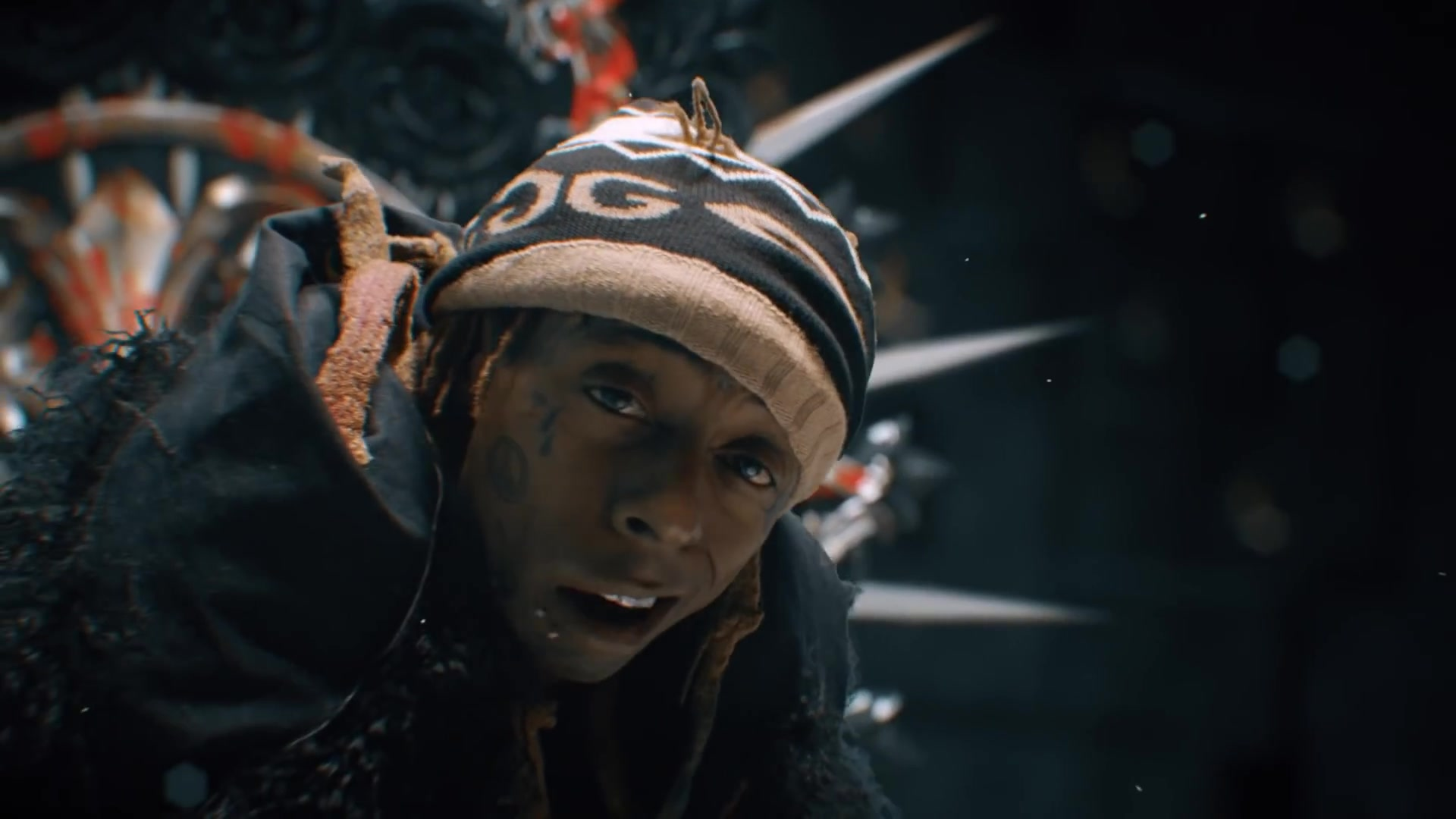 Gucci Mirrored Gg Beanie Worn By Lil Wayne In Don T Cry Ft