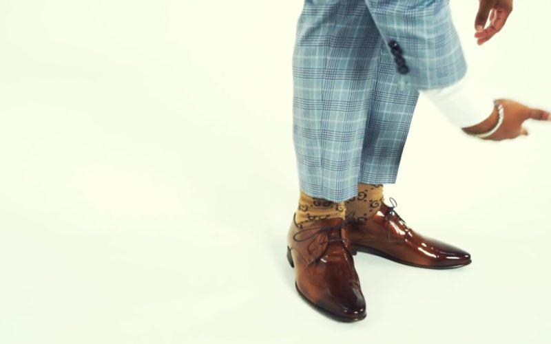 Gucci Socks Worn by Plies in Drip 4 Sale