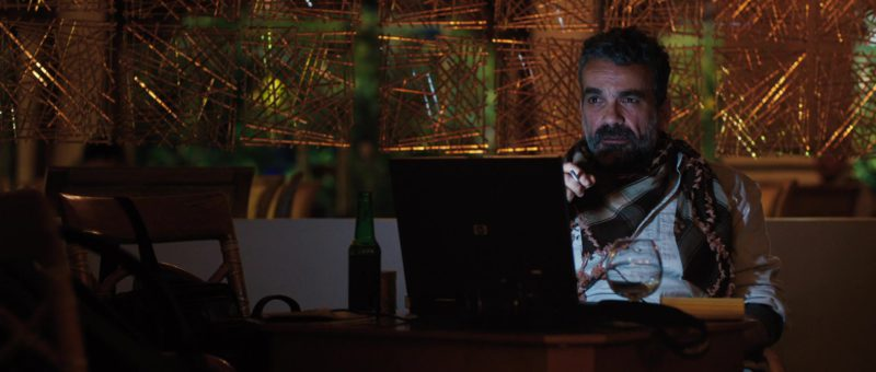 HP Notebook in A Private War (2018) - Movie Product Placement