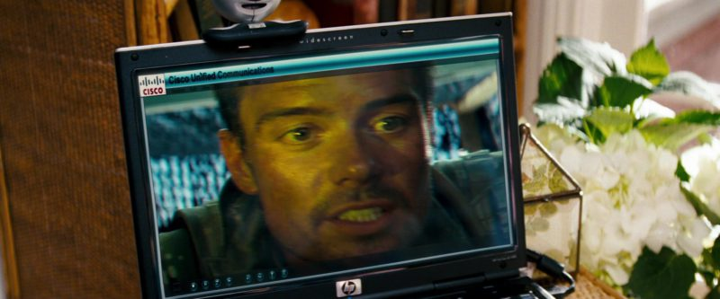 HP Notebooks and Cisco Unified Communications in Transformers (2007) - Movie Product Placement