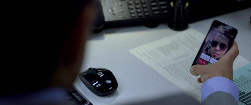 HP Wireless Mouse Used by Rami Malek in Need for Speed (2014) Movie Product Placement