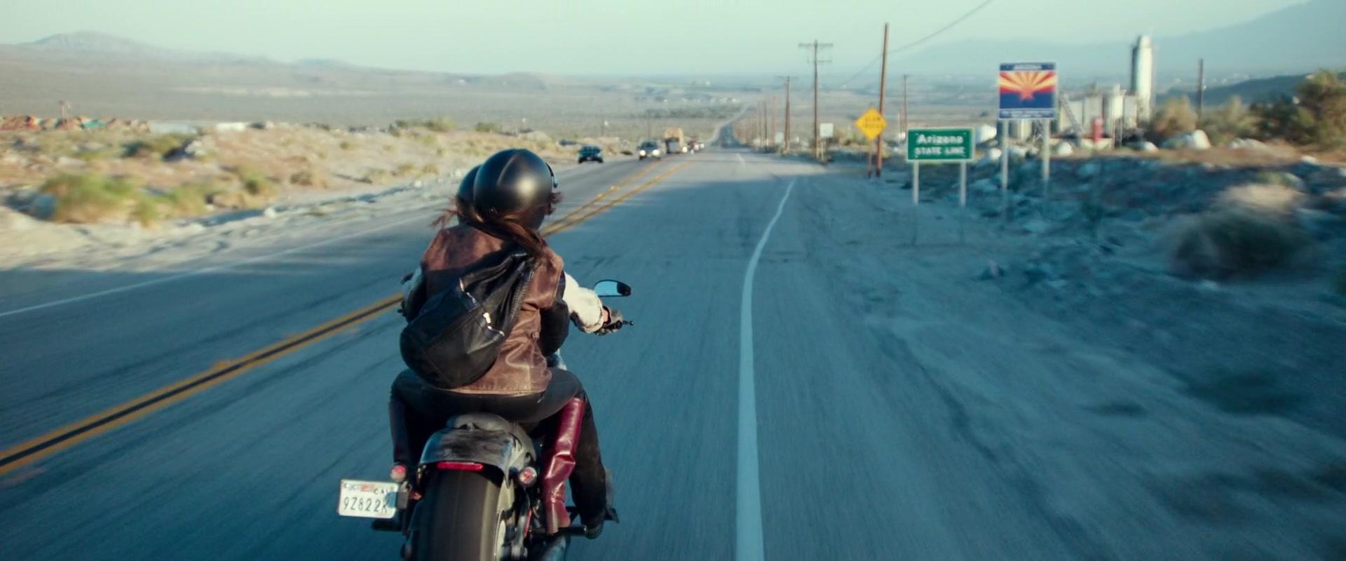 Harley Davidson Movie: Harley-Davidson CVO Pro Street Breakout Motorcycle Used By