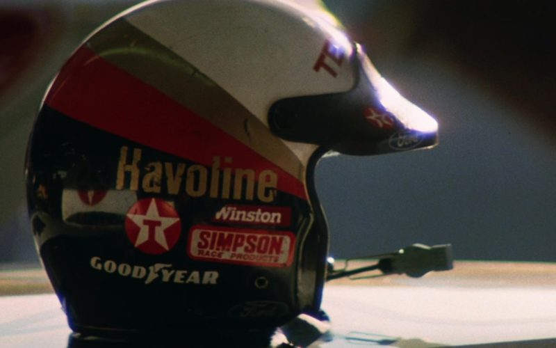 Havoline, Winston, Texaco, Simpson Race Products, Goodyear in Days of Thunder