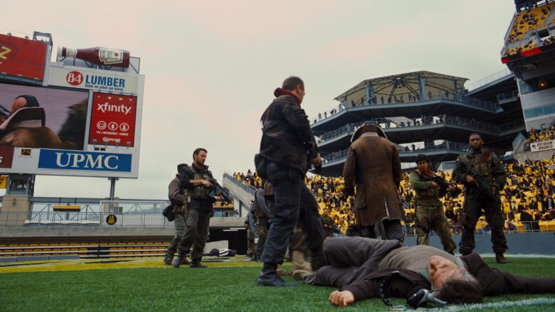 Heinz Tomato Ketchup, 84 Lumber, Xfinity in The Dark Knight Rises (2012) - Movie Product Placement
