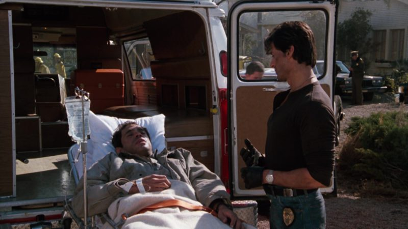 Heuer Watch Worn by Sylvester Stallone in Cobra (1986) Movie