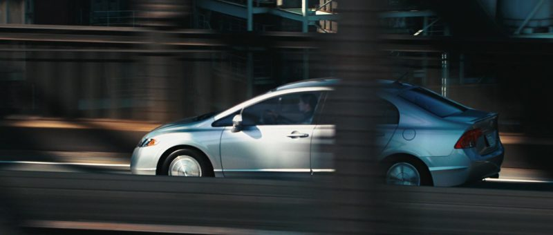 Honda Civic Hybrid Car Driven by Jennifer Connelly in The Day the Earth Stood Still (2008) - Movie Product Placement