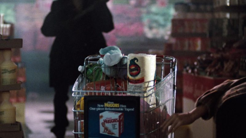 Huggies and Bounty Paper Towel in Cobra (1986) - Movie Product Placement