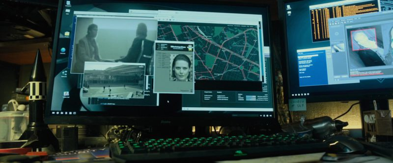 Iiyama Monitor in The Girl in the Spider's Web (2018) Movie Product Placement
