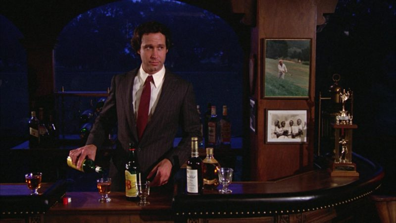 J&B Scotch Whisky Bottle in Caddyshack (1980) Movie Product Placement