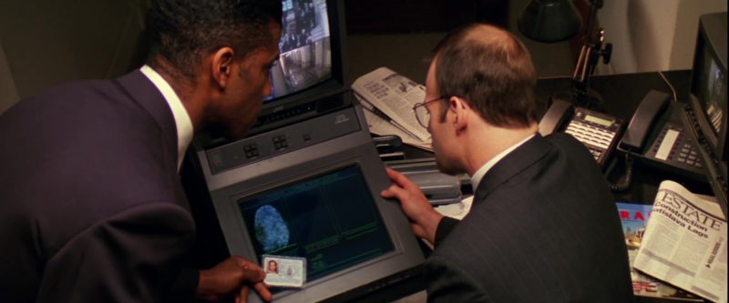 JVC Monitor in Mission: Impossible (1996) - Movie Product Placement