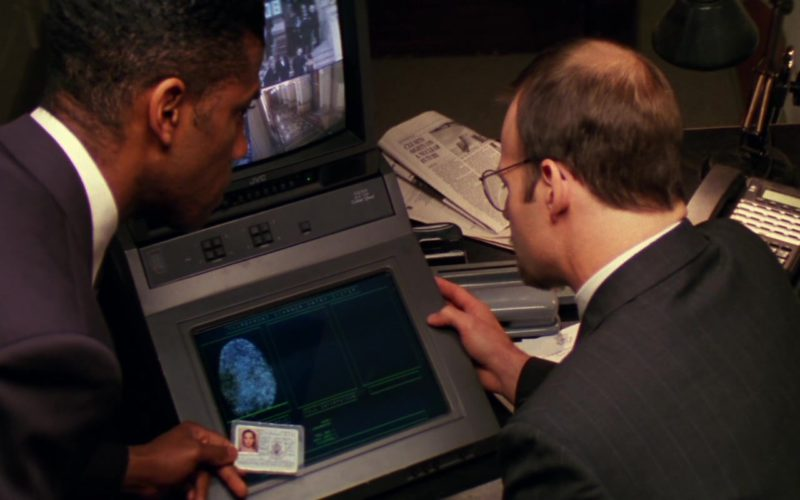 JVC Monitor in Mission Impossible