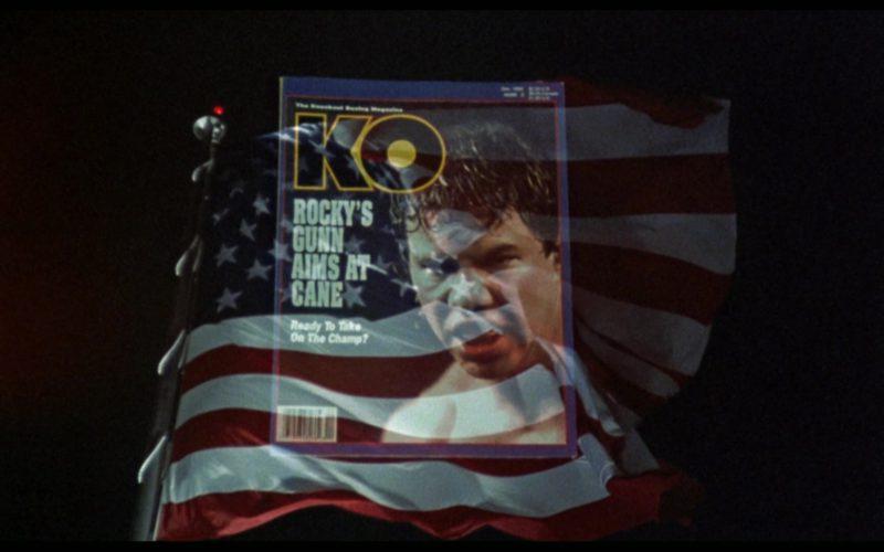 KO Magazine in Rocky 5 (1)