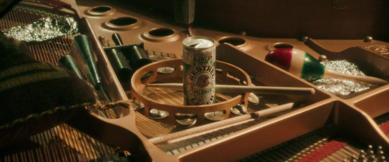 Kestrel Pilsner Lager Beer in Bohemian Rhapsody (2018) - Movie Product Placement