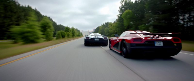 Koenigsegg Agera High-Performance Sports Cars in Need for Speed (2014) Movie Product Placement