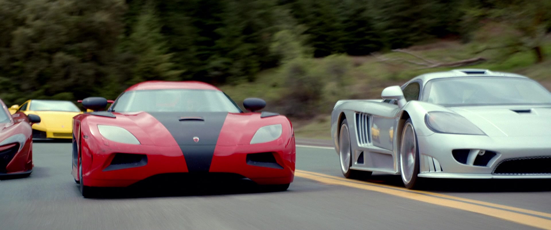 Koenigsegg Agera R Red Car Driven By Aaron Paul In Need For Speed