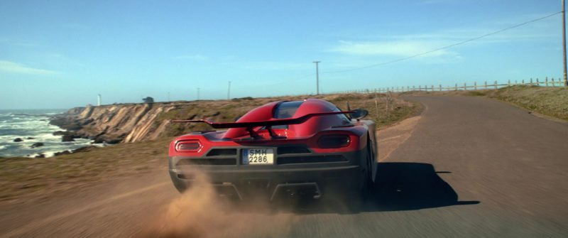 Koenigsegg Agera R Red Car Driven by Aaron Paul in Need for Speed (2014) - Movie Product Placement