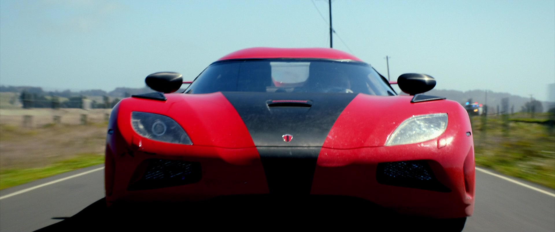 Koenigsegg Agera R Red Car Driven By Aaron Paul In Need