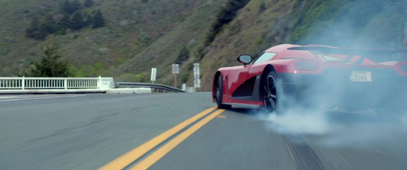 Koenigsegg Agera R Red Car Driven by Aaron Paul in Need for Speed (2014) Movie Product Placement