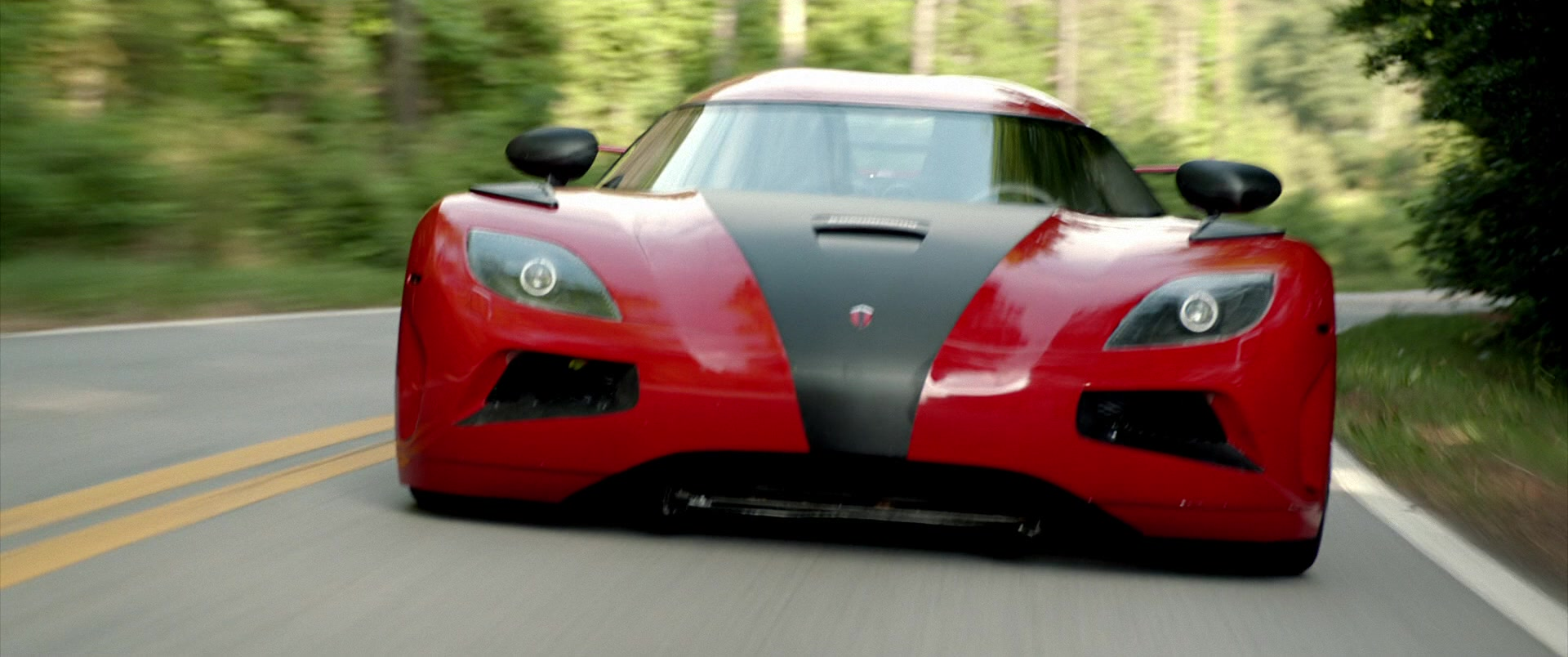 Koenigsegg Agera R Red Sports Car Driven By Dominic Cooper In Need