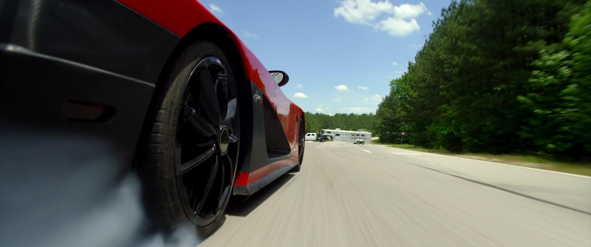 Koenigsegg Agera R Red Sports Car Driven By Dominic Cooper