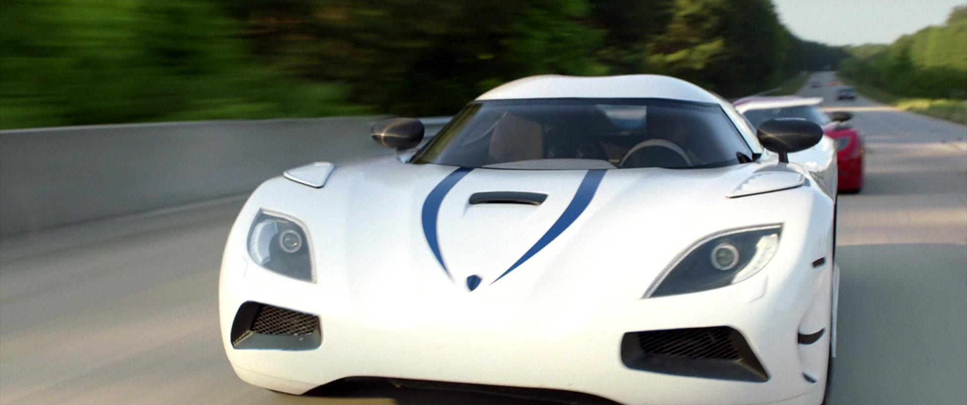 Koenigsegg Agera R White Sports Car Driven By Harrison Gilbertson
