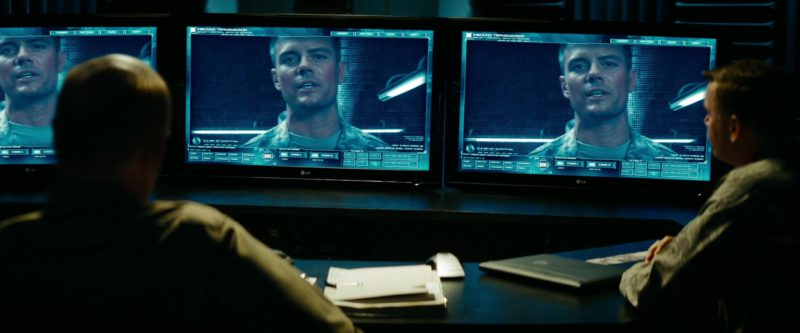 LG Monitors in Transformers: Revenge of the Fallen (2009) - Movie Product Placement