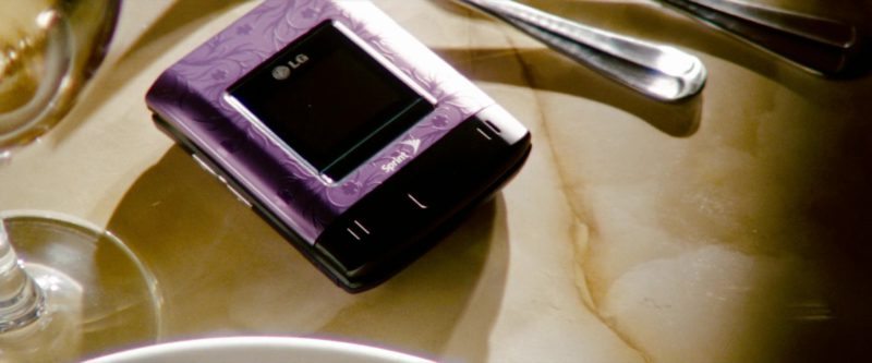 LG Sprint Cell Phone in Transformers: Revenge of the Fallen (2009) Movie Product Placement