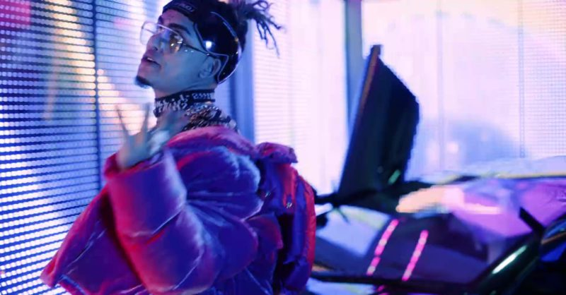 "Louis Vuitton Intergalactic Sunglasses Worn by Lil Pump in ""Butterfly Doors"" (2019) Official Music Video Product Placement"