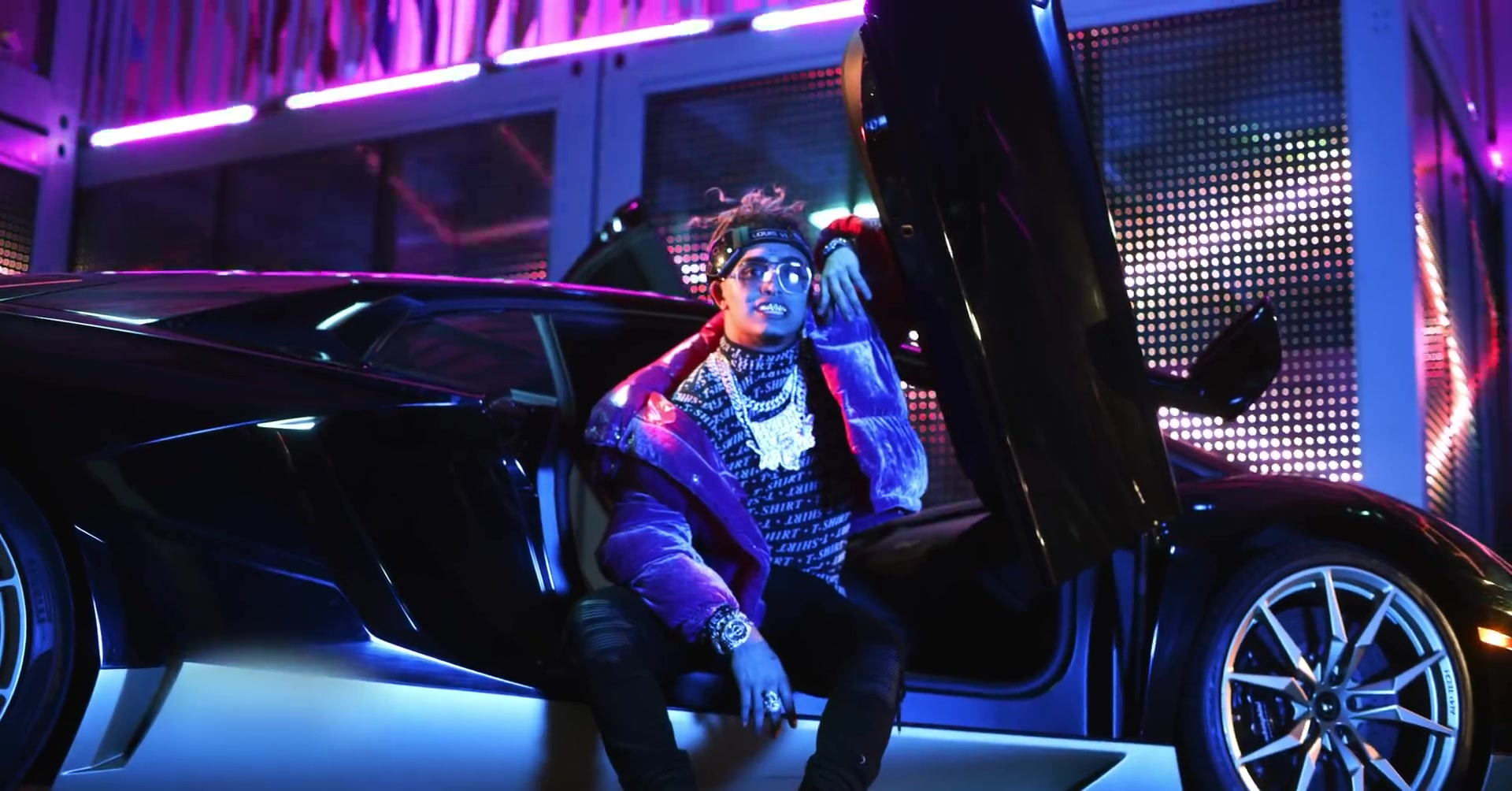 """Edge 2017 Interior >> Louis Vuitton Intergalactic Sunglasses Worn by Lil Pump in """"Butterfly Doors"""" (2019) Official ..."""