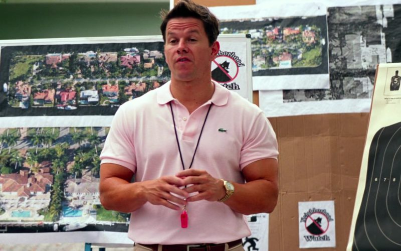 Lacoste Pink Polo Shirt Worn by Mark Wahlberg in Pain & Gain (1)