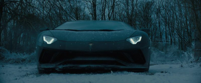Sports Car Brands >> Lamborghini Aventador Sports Car in The Girl in the Spider's Web (2018) Movie