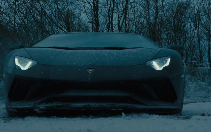 Lamborghini Aventador Sports Car in The Girl in the Spider's Web (13)