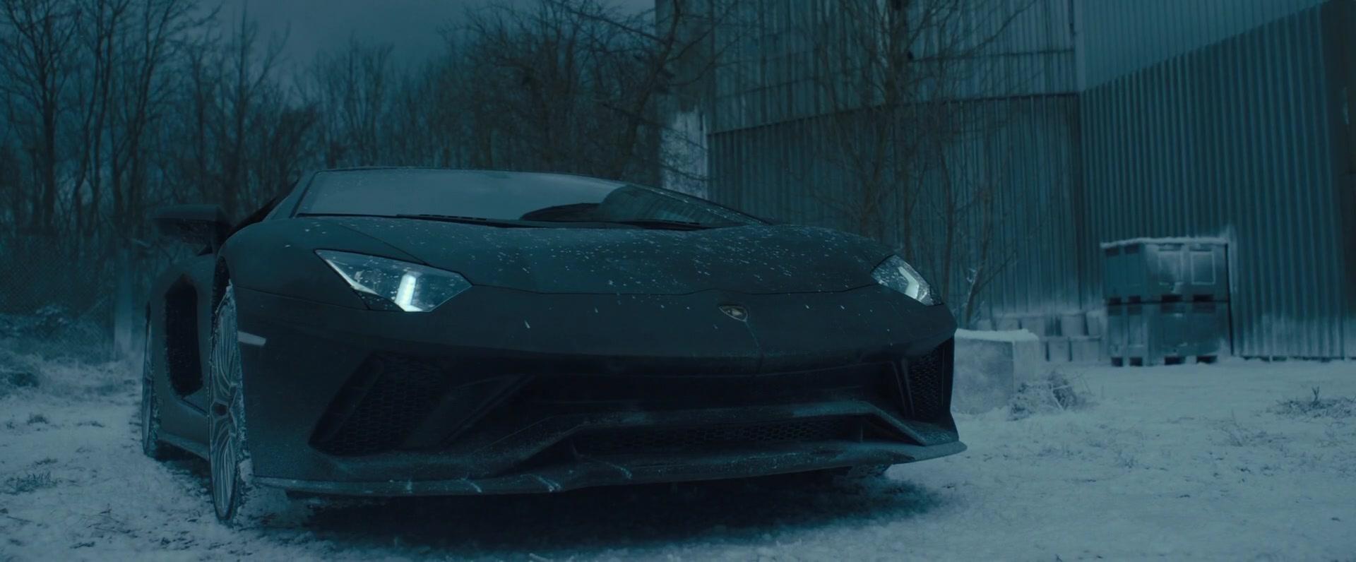 Lamborghini Aventador Sports Car In The Girl In The Spider E S Web