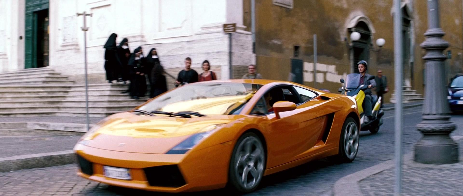 Used Cadillac Cts-V >> Lamborghini Gallardo Orange Sports Car Driven by Maggie Q ...