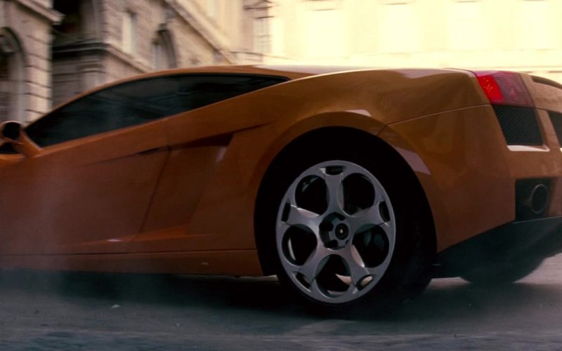 Lamborghini Gallardo Orange Sports Car Driven by Maggie Q in Mission Impossible (13)