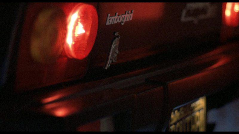 Lamborghini Jalpa Sports Car in Rocky 4 (1985) Movie Product Placement