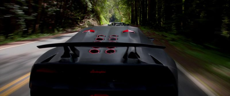 Lamborghini Sesto Elemento Sports Car in Need for Speed (2014) Movie Product Placement