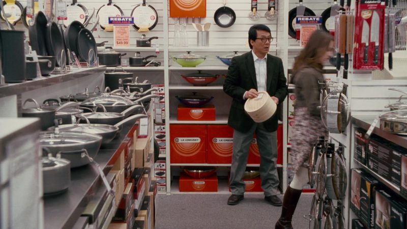 Le Creuset Premium French Cookware in The Spy Next Door (2010) Movie