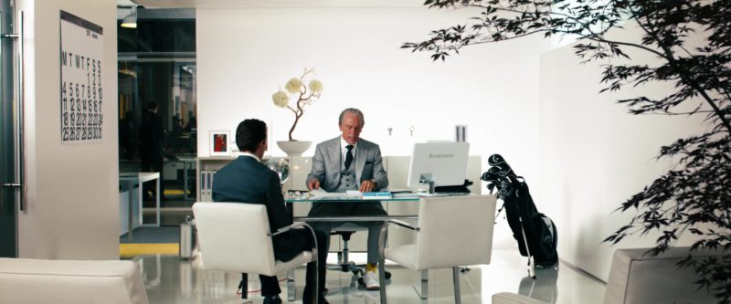 Lenovo All-In-One Computer Used by John Malkovich in Transformers: Dark of the Moon (2011) Movie Product Placement