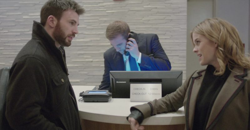 Lenovo Monitor in Before We Go (2014) - Movie Product Placement