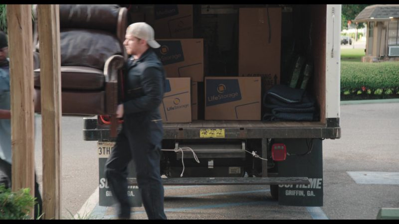 Life Storage Boxes in The Last Laugh (2019) - Movie Product Placement
