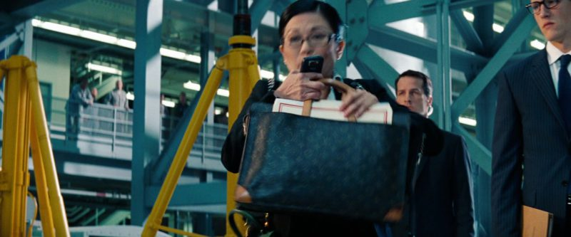 Louis Vuitton Handbag Held by Keiko Agena in Transformers: Dark of the Moon (2011) Movie Product Placement