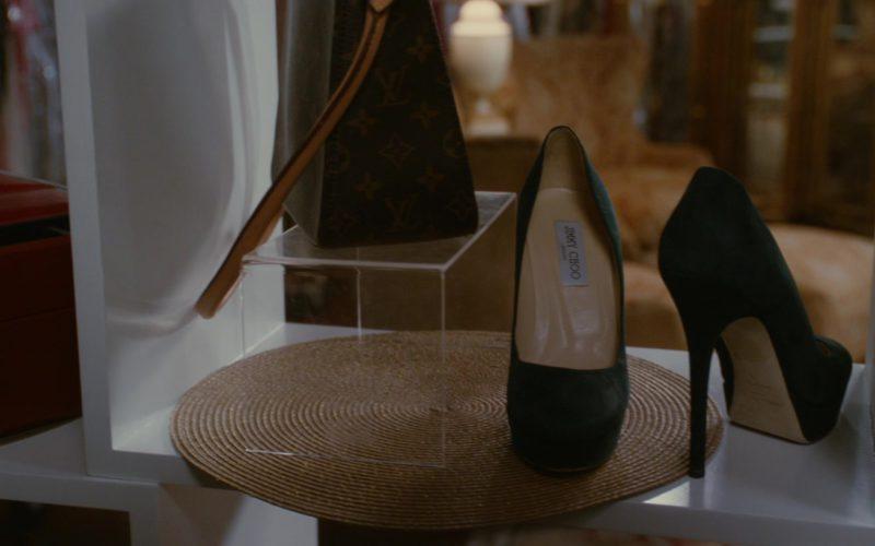 Louis Vuitton Handbag and Jimmy Choo High Heel Shoes (1)
