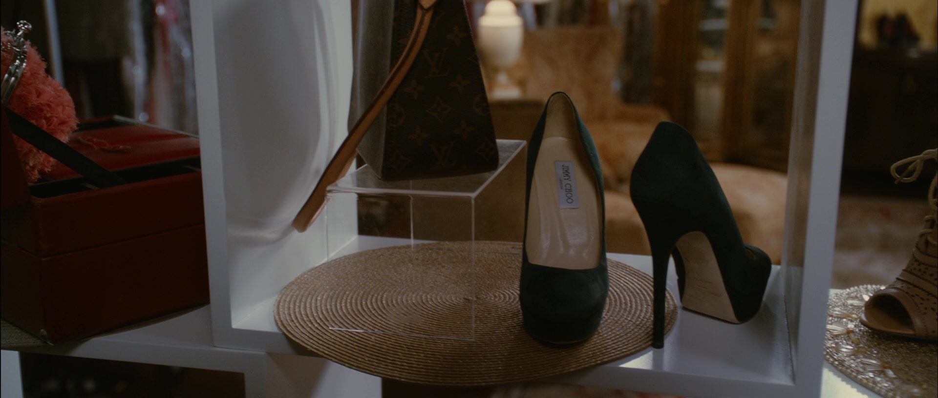 82f32387347 Louis Vuitton Handbag and Jimmy Choo High Heel Shoes in Temptation   Confessions of a Marriage Counselor (2013)