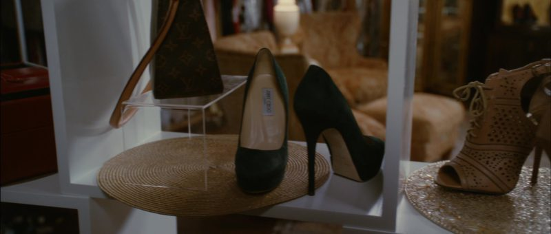 Louis Vuitton Handbag and Jimmy Choo High Heel Shoes in Temptation: Confessions of a Marriage Counselor (2013) Movie