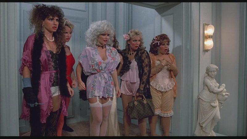 Louis Vuitton Handbag in Bachelor Party (1984) Movie
